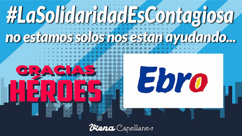 #LaSolidaridadEsContagiosa
